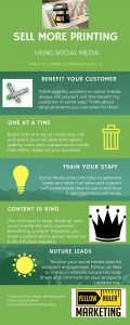 social media for printing infographic