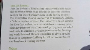 Oxfam Ireland Annual Report Extract