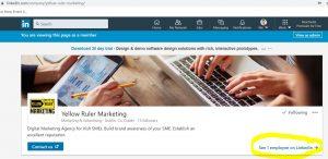 LinkedIn Company page header 1
